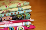 8 new fabrics in half yard cuts